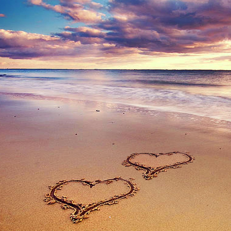 "John Holden ""Capture Light"" - Seaglass Hearts"